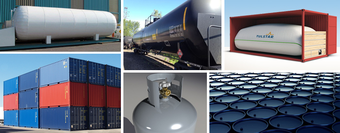 Drums, Totes, Tankers, Containers